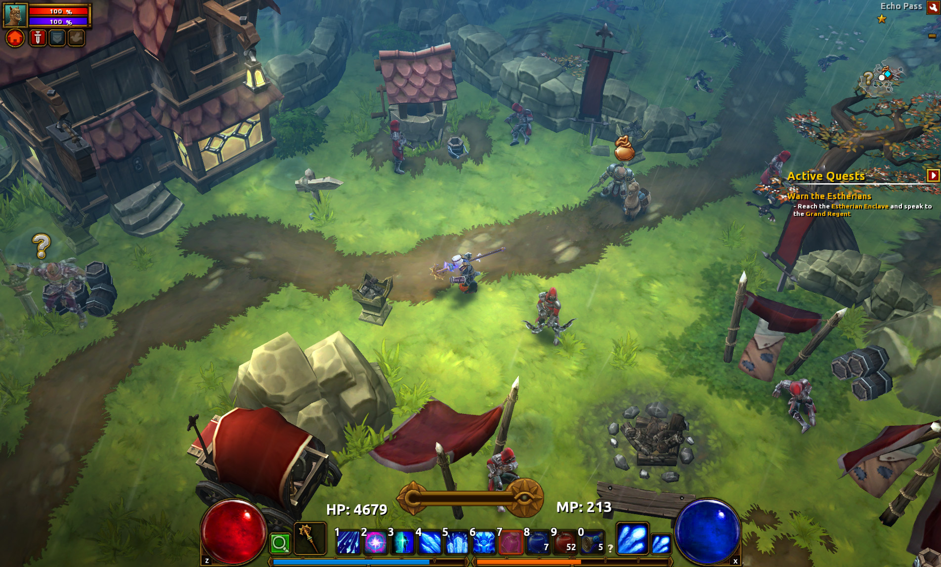 Welcome to the starter area for Torchlight 2!