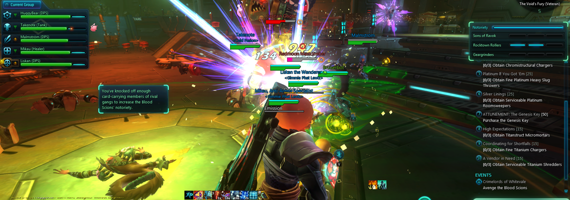 The Combat in Wildstar is simply fantastic.