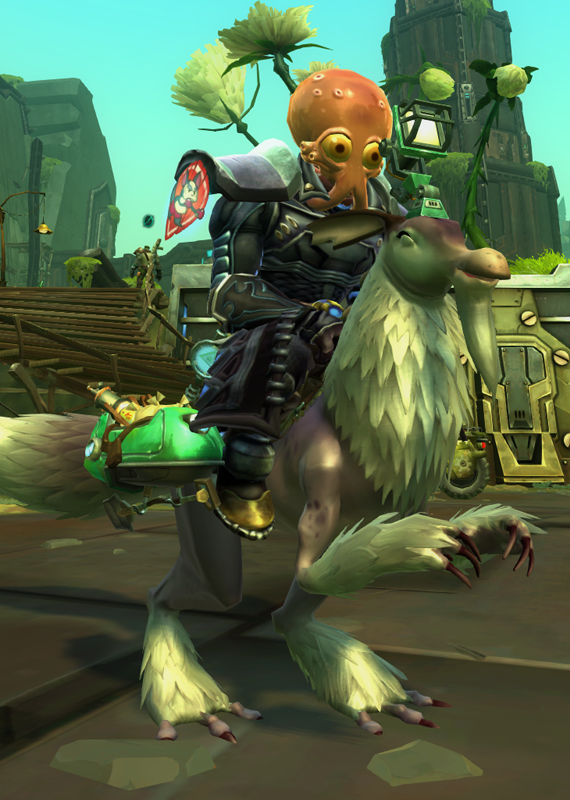 This image pretty much sums up a Wildstar experience.