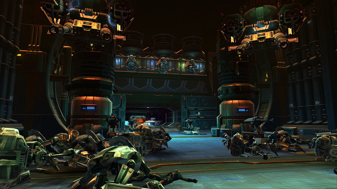 Creepy Droid Factories Await!