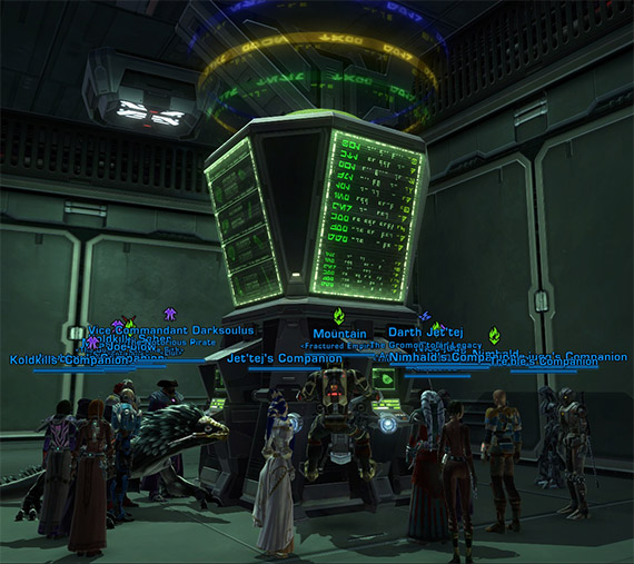 Welcome to the Galactic Trade Network, one of the busiest places in fleet!