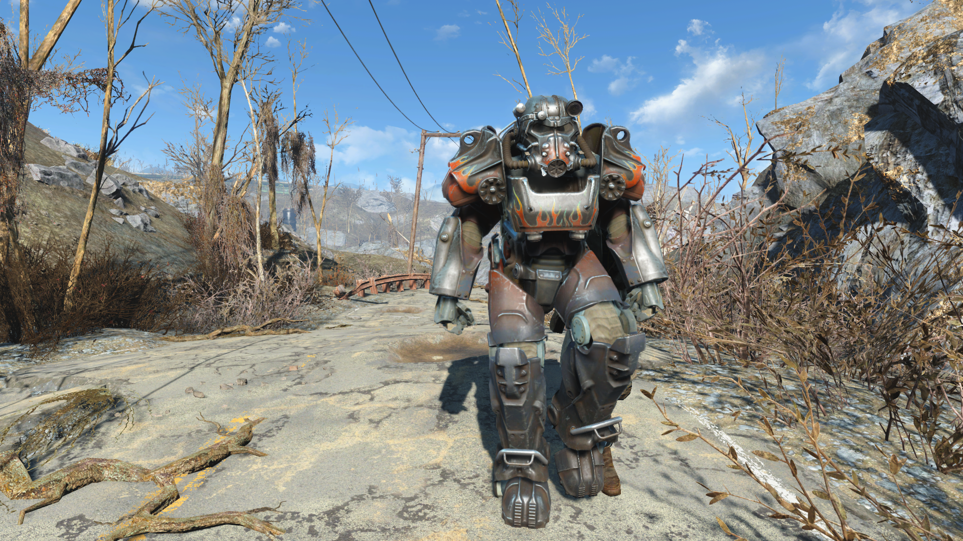 The only way to explore the wastelands!