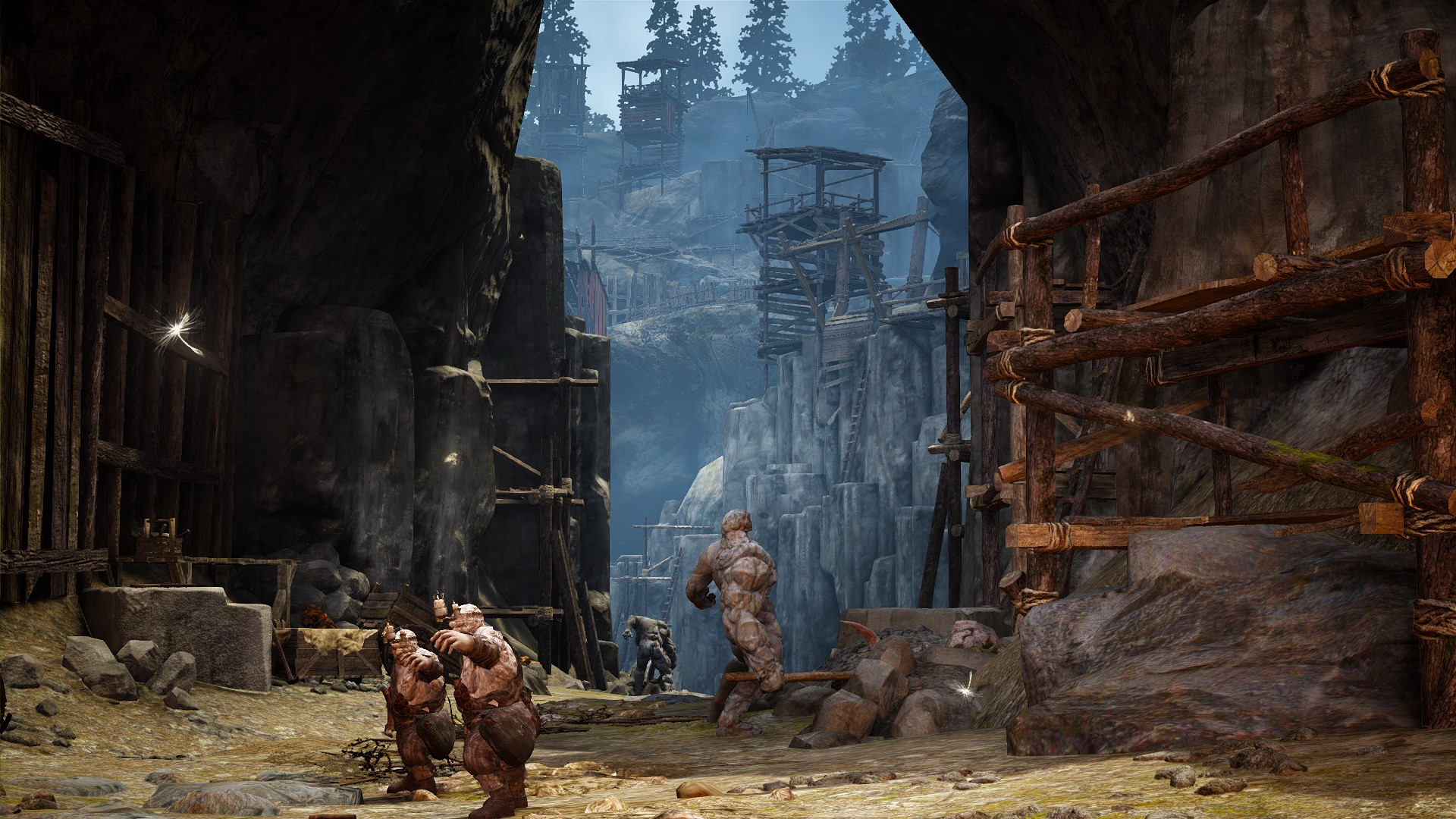 Petrified Dwarves turn to stone when you kill them. Very cool.