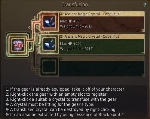 Gotta throw crystals in that +15 Grunil!