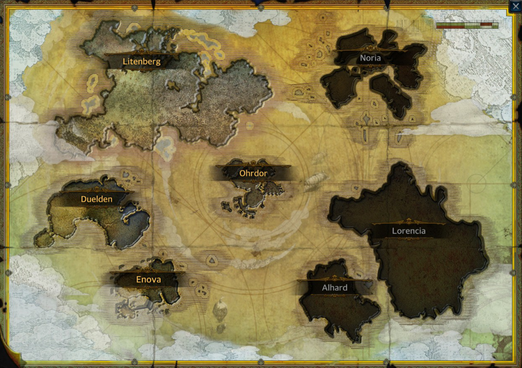 CBT World Map