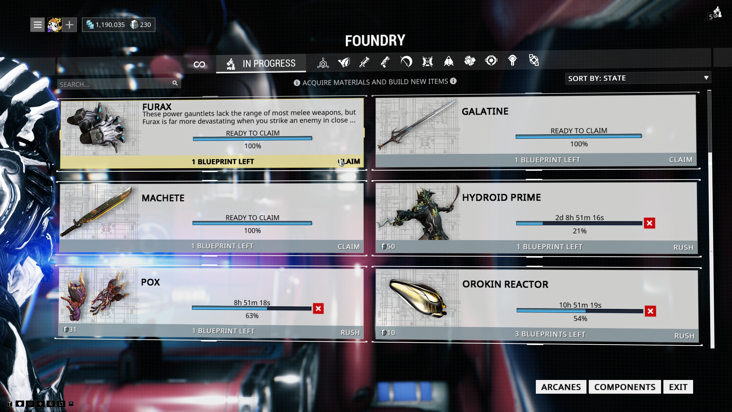 Warframe review 2018 craft my beauties craft i say malvernweather Image collections