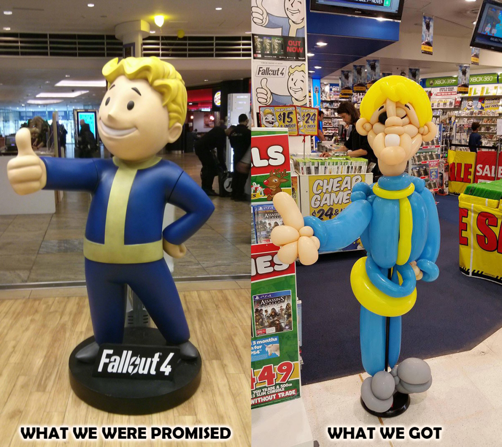 Fallout 76 Promised Got